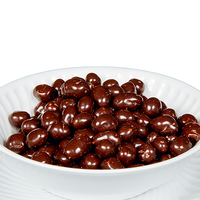 Cacahuetes Rellenos de Chocolate
