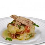 Ensalada de Patatas, Tomate, Pimiento, Cebolla y Melva