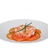 Ensalada de Picadillo de Langostinos y Tomate