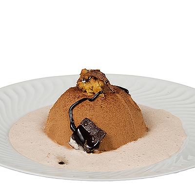 Mousse Cremoso de Chocolate con Leche y Nata