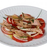 Ensalada de Tomate Raf, Hinojo y Melva