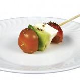 Pinchito de Tomate, Mozzarella, Aguactate y Albahaca