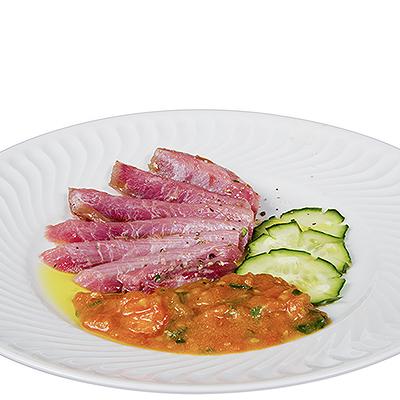 Ventresca de Atun Rojo en Sashimi